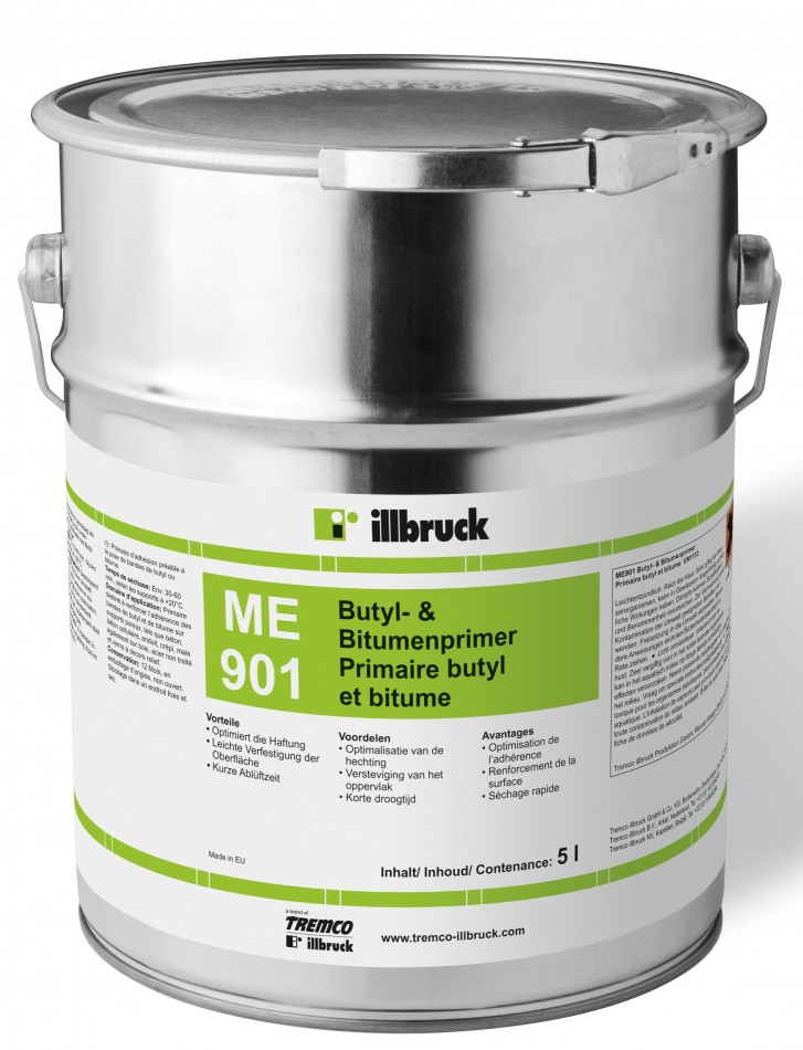 ILLBRUCK me901 Butyl et bitume Primer 1 L